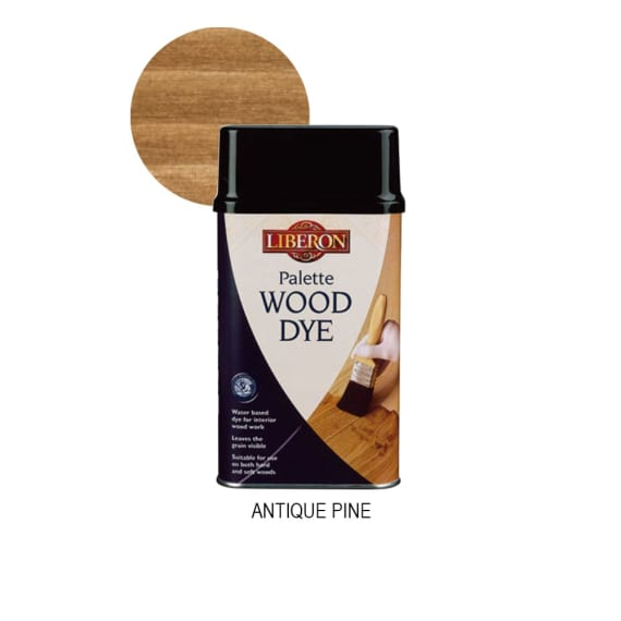 Liberon Palette Wood Dye - Antique Pine