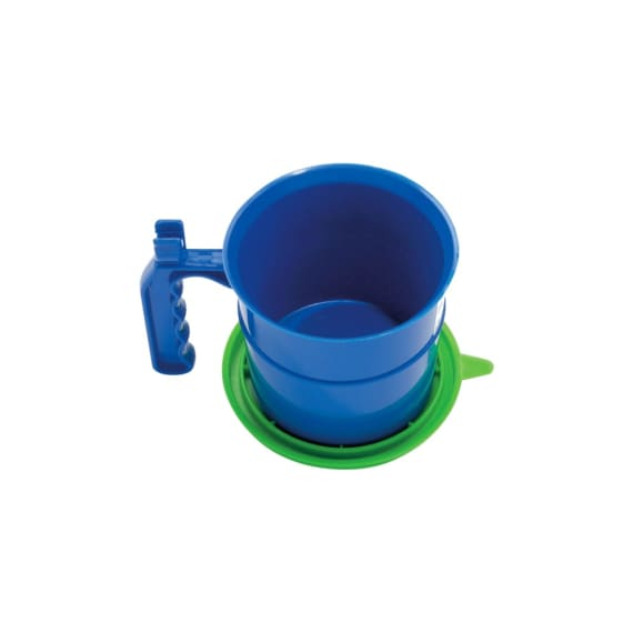 Mako Plastic Paint Pot & Sealable Lid 500ml