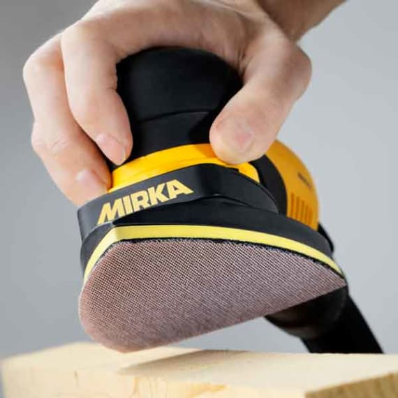 Mirka DEOS Electric sander light and manoeuvrable