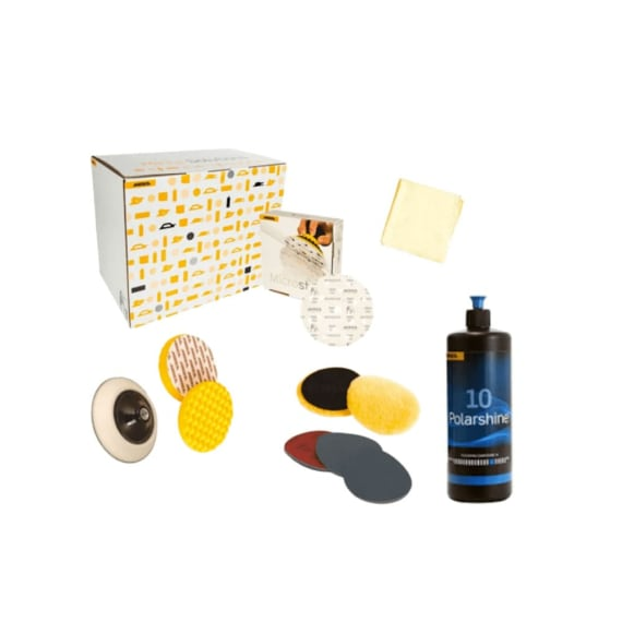 Mirka High Gloss Polishing Solution Kit 2015