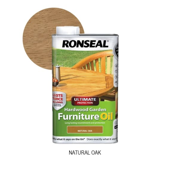 Ronseal Ultimate Hardwood Furniture Oil 1L