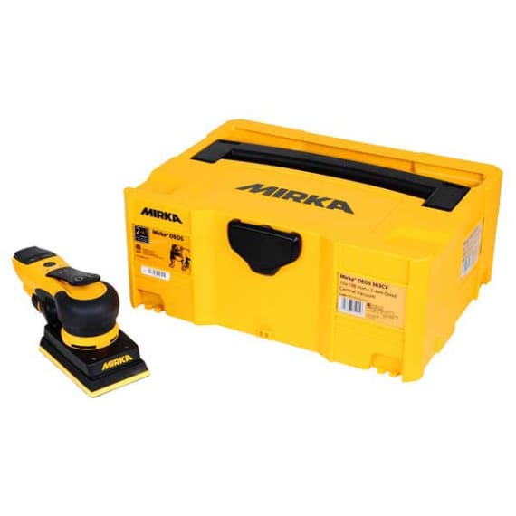 Mirka DEOS 81x133mm Orbital Sander with Case