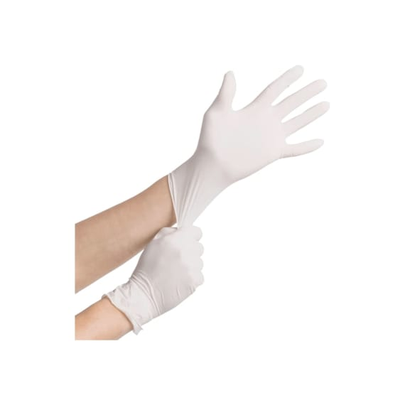 Latex Disposable Gloves - Powder Free