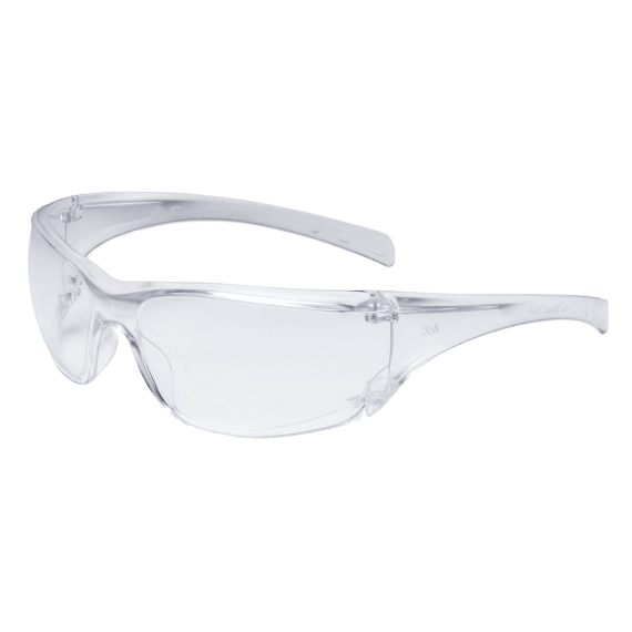 3M Virtua Clear Polycarbonate Safety Glasses