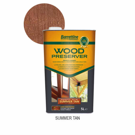 Barrettine Premier Wood Preserver 5L