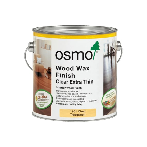 Osmo Wood wax finish