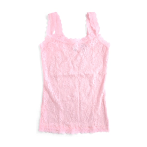 SIGNATURE LACE UNLINED CAMI - Bliss Pink