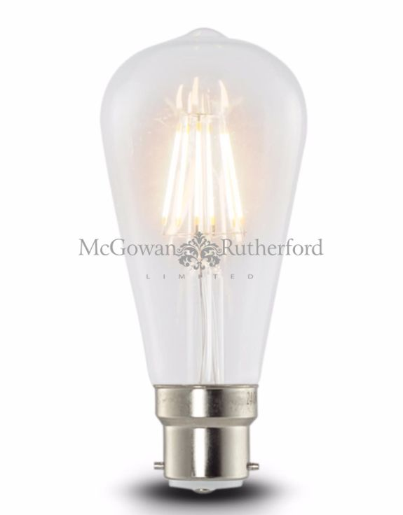 LED 6w Squirrel Cage Filament Bulb (B22)
