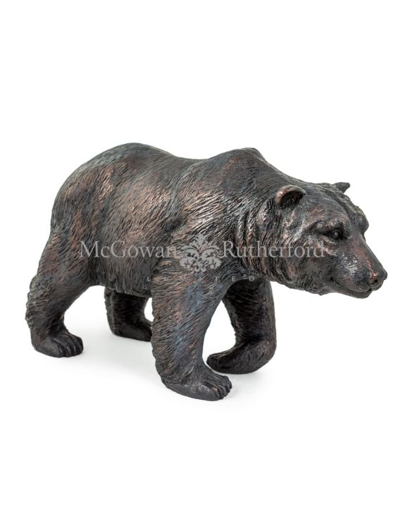Antique Bronze Extra Large Bear Figure