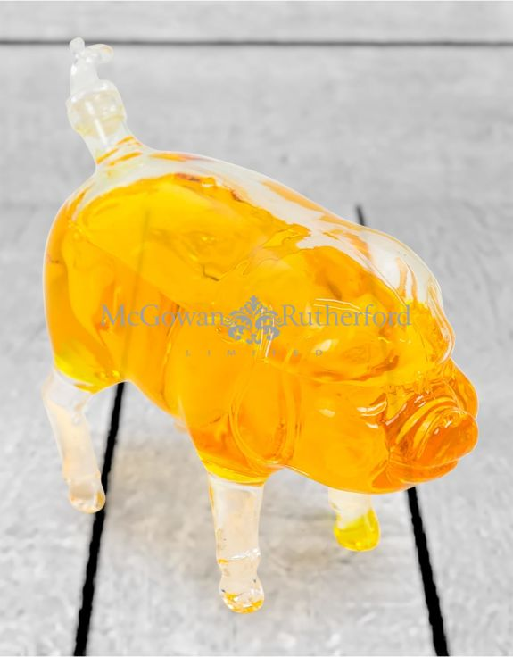 Pig Glass Drinks Decanter