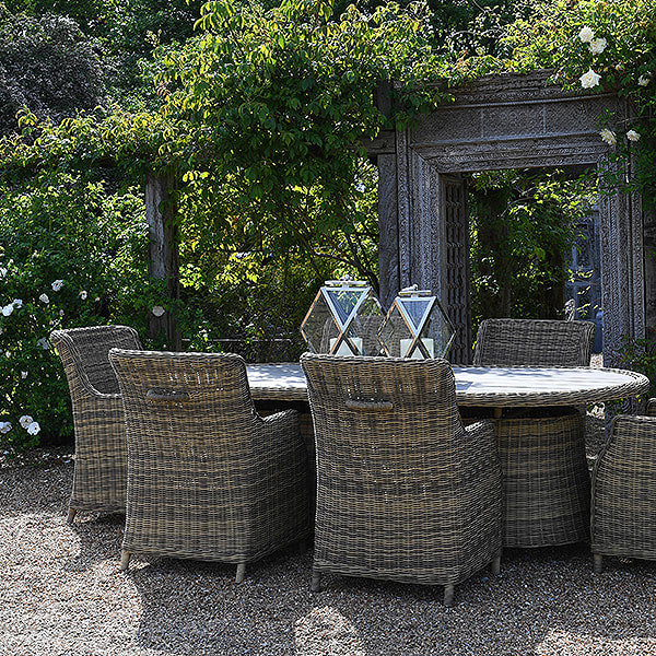 Garden Showrooms displaying our outdoor furniture
