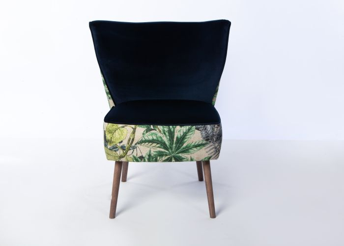 Phoebe Chair Smoke Leg Madagascar Forest Amp Brussels Ink