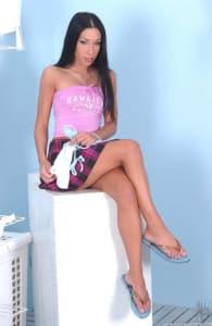 Boy Girl Leg