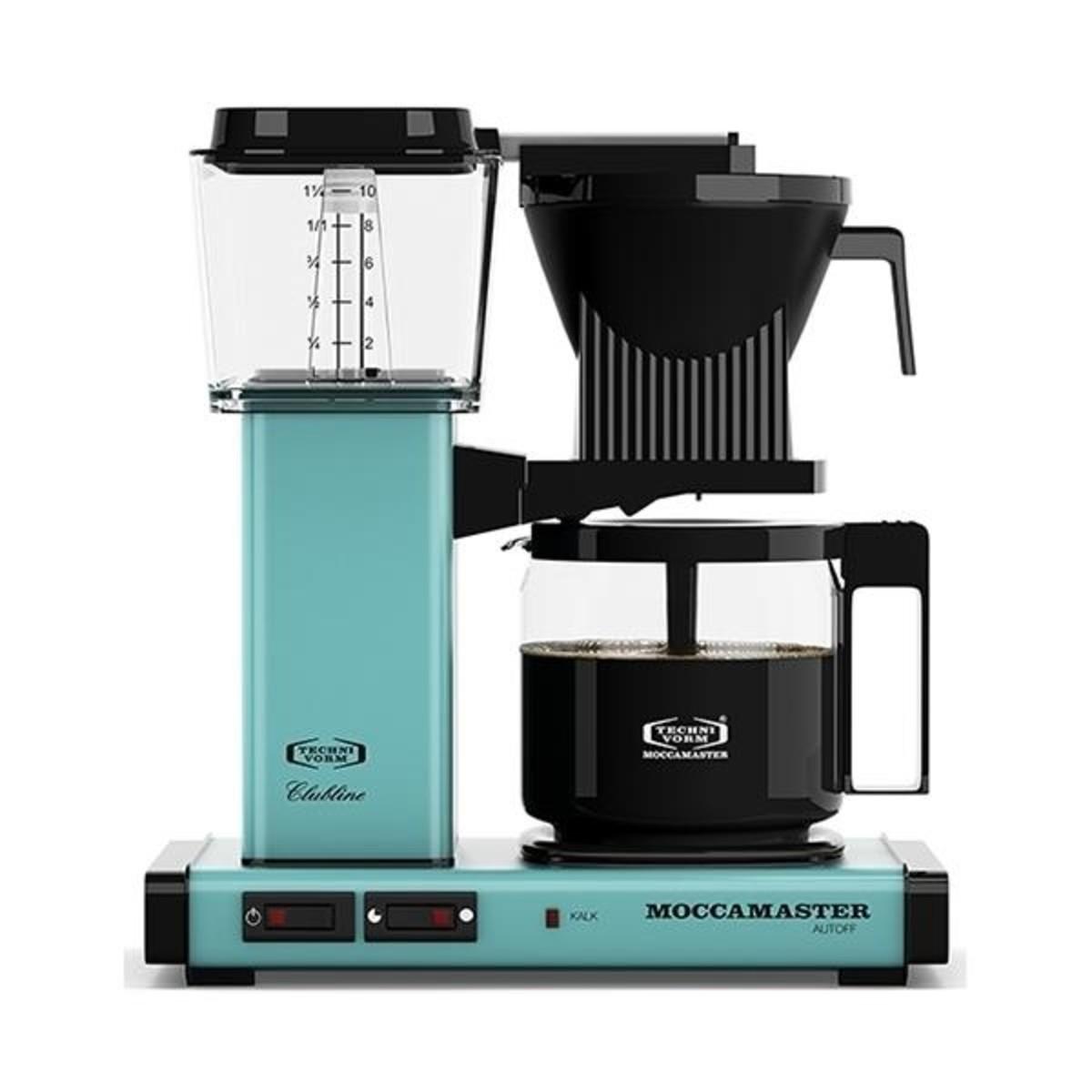MOCCAMASTER KBGC982AO COFFEE MACHINE, TURQUOISE | Ecosto