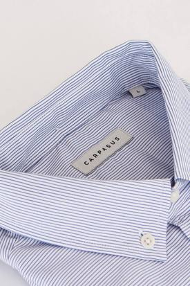 CARPASUS Organic Cotton Men's Footloose Shirt | Blue Sagres