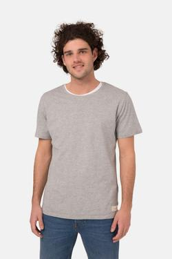 MUD Jeans Organic Cotton Men's Roundneck Tee | Grey