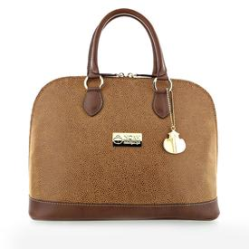 NOAH Italian Vegan Shoes Luxury Capri Tote | Cognac