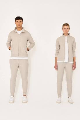 Riley Studio Unisex Co-Ord Track Pants | Clay