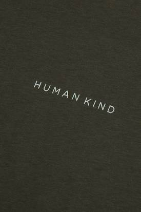 Riley Studio Unisex 'Human Kind' Classic Tee | Forest