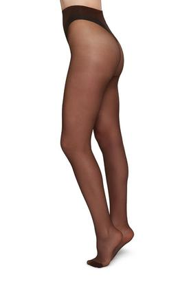 Swedish Stockings Elin Premium Tights | Dark Nude