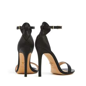 VEERAH Venus Strappy Vegan Sandals | Black Tie