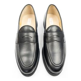 Will's Vegan Shoes Men's Goodyear Welt Loafers | Black