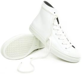 Will's Vegan Shoes Men's Classic High-Cut Sneakers | White