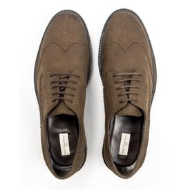 Will's Vegan Shoes Men's Continental Brogues | Brown