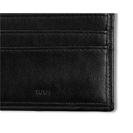 Will's Vegan Shoes ID & Travel Card Case | Black