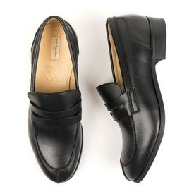 Will's Vegan Store Men's Vegan Leather City Loafers | Black