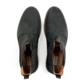 Will's Vegan Shoes Men's Continental Chelsea Boots | Black