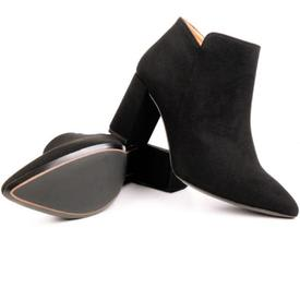 Will's Vegan Shoes Point Toe Boots | Black