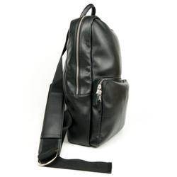Will's Vegan Shoes Slim Backpack - Black | Ecoture