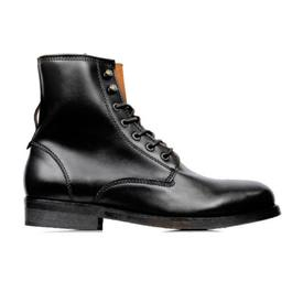 Will's Vegan Shoes Strider Boots | Black