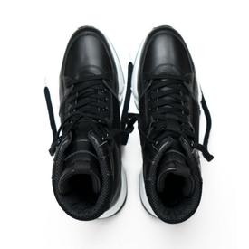 Will's Vegan Shoes Men's Chicago High-Top Sneakers | Black