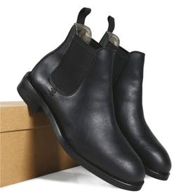 Will's Vegan Shoes Men's Waterproof Chelsea Boots | Black