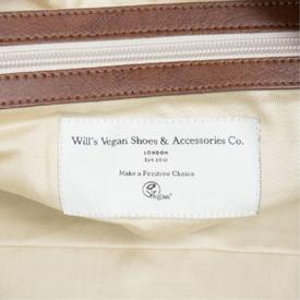 Will's Vegan Shoes Men's Weekend Bag | Black
