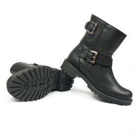 Will's Vegan Shoes Women's Biker Boots | Black