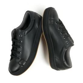 Will's Vegan Shoes Men's NY Trainers | Black