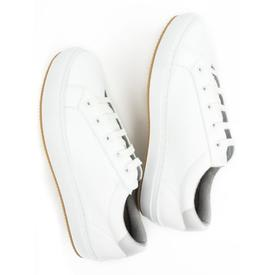 Will's Vegan Shoes Women's NY Trainers | White