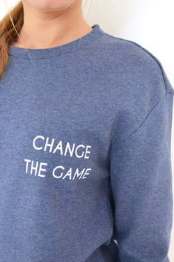 Noumenon Organic Cotton CTG Sweatshirt | Blue