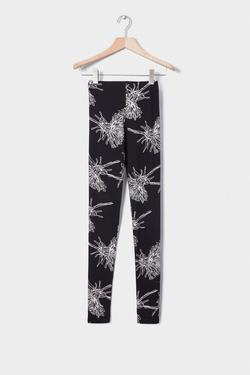 Kowtow Organic Cotton Leggings - Black Dandelion | Ecoture