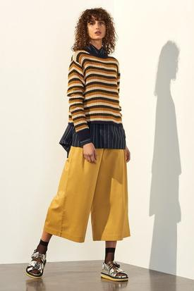 Kowtow Organic Cotton Escape Crew | Multi Stripe