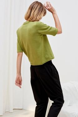 Kowtow Organic Cotton Knitted Tee - Gingko | Ecoture