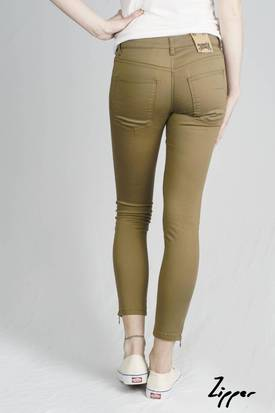 Monkee Genes Ethical Zipper Jeans | Sage Sateen