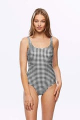 BAABY Sustainable ECONYL® Cassandra One-Piece | Gingham