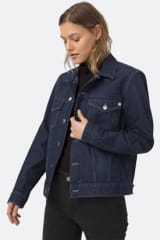 MUD Jeans Women's Tyler Denim Jacket | Strong Blue