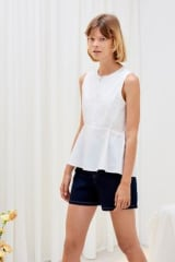 Kowtow Organic Cotton Arc Top | White