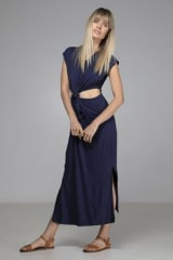 Indecisive Organic Bamboo Essie Dress | Navy