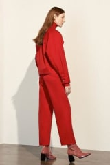 Kowtow Ethical Denim Formation Jacket | Red